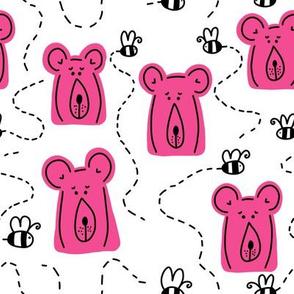 bears   pink