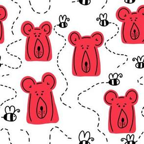 bears   red
