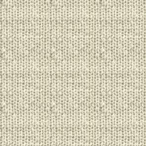 Faux Sweater Knit Cream
