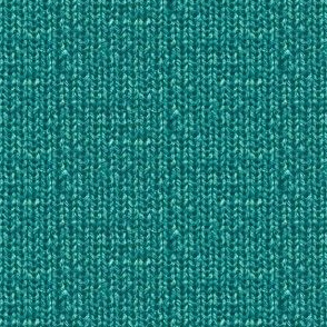Faux Sweater Knit Teal