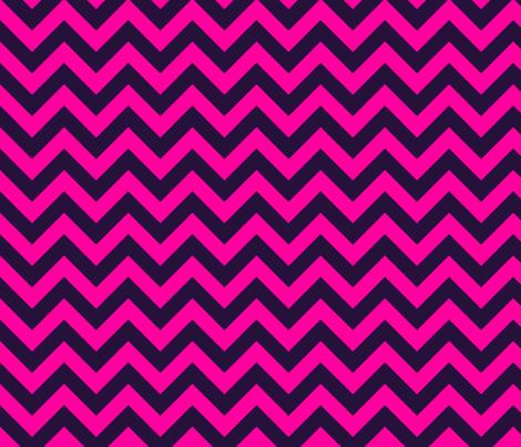 Bold Pink Black Chevron Color Zig Zag Pattern fabric by artpics on Spoonflower - custom fabric