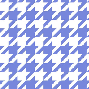 Houndstooth Check //Periwinkle ((Medium))