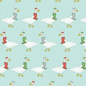 Happy Winter Geese