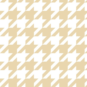 Houndstooth Check //Biscuit ((Medium))