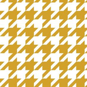 Houndstooth Check //Mustard ((Medium))