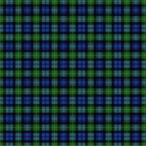 "Gordon Highlanders tartan, modern colors, 2"""