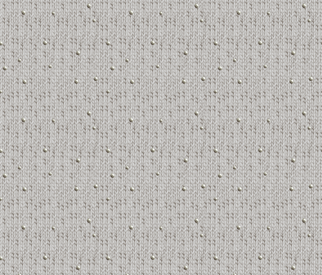 Grey knitted fabric fabric by julia_gosteva on Spoonflower - custom fabric