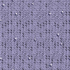Violet knitted fabric