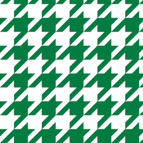 Houndstooth Check //Kelly Green ((Medium))