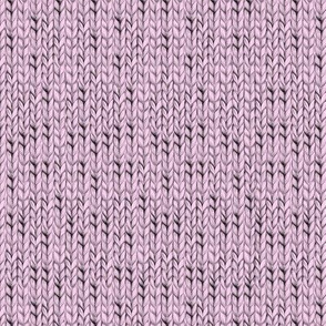 Pink knitted fabric