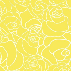 Yellow Rose Texture
