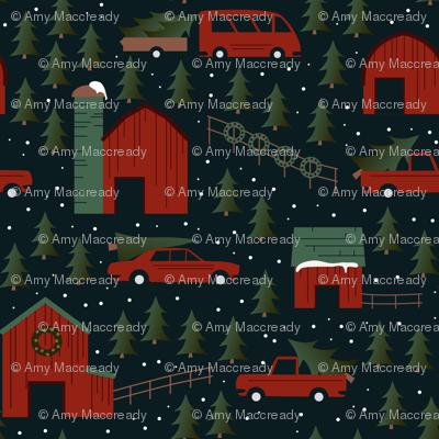 Wisconsin Christmas Tree Farm