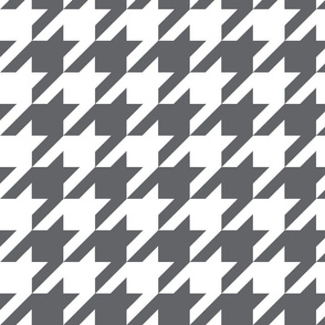 Houndstooth Check // Grey ((Medium))