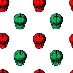christmas skulls 2