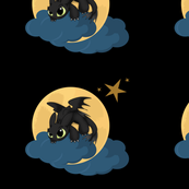 black dragon panel
