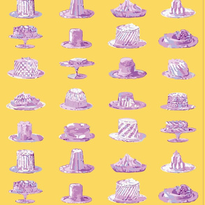 History Pies-lilac icing