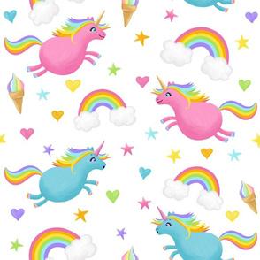 Unicorns, Rainbows and Ice-Creams, Oh My