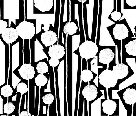 drip tree screen fabric by 1980aidan on Spoonflower - custom fabric