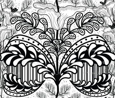 abstract-florals-black-and-white