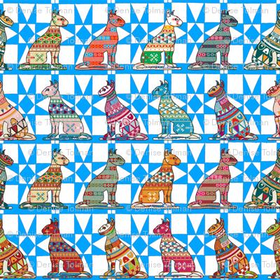 Scandinavian Art Patterned Cats