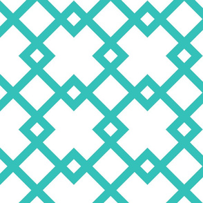 Hampton Diamond Turquoise