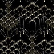 Deco Lace black medium