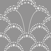 Deco Lace grey large