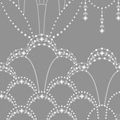 Deco Lace grey medium