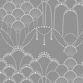 Deco Lace grey small