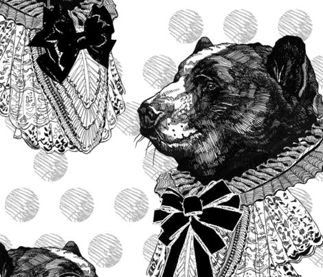 Mr. Elegant fabric by monika_wyłoga on Spoonflower - custom fabric