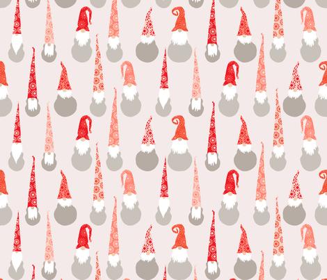 christmas gumnut elves fabric by melanie_jane_designs on Spoonflower - custom fabric