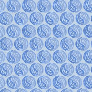blue circle shapes