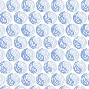 blue circle shapes - light