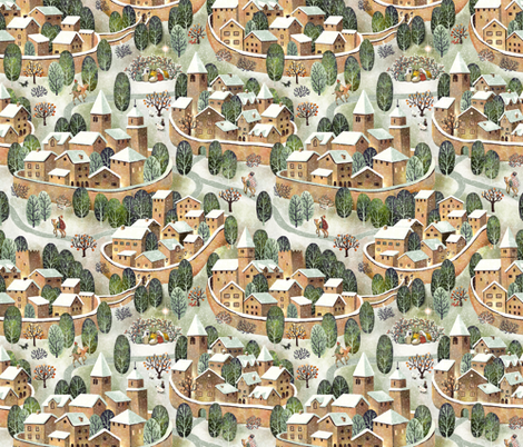 presepe2018 fabric by gaiamarfurt on Spoonflower - custom fabric