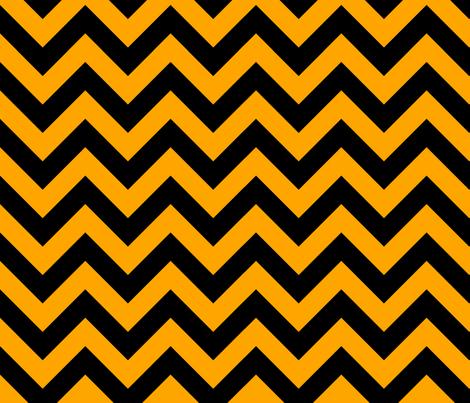 Orange Fruit Black Color Chevron Zig Zag Pattern Wallpaper