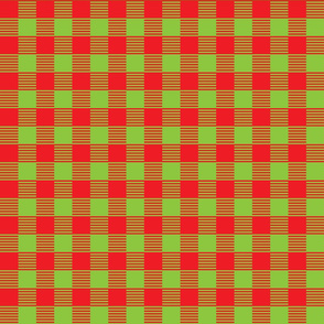BuffaloCheck Red Green
