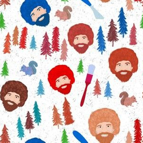 Happy Trees (Green/Brown small scale)