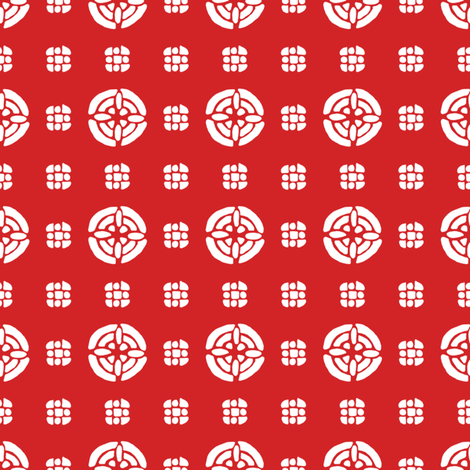 Menton strawberry 1 fabric by lilyoake on Spoonflower - custom fabric