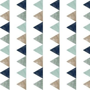 textured triangles (white background)  (90) C18BS