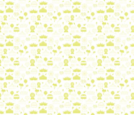 Carnival Monochrome Pattern fabric by jaidurga on Spoonflower - custom fabric