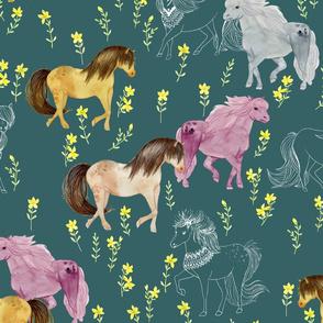 Wild Horses Slate