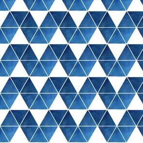 blue triangle repeat