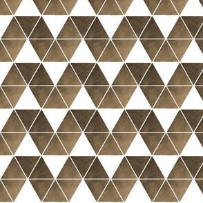 sepia triangle repeat