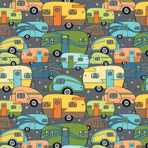 Cozy Campers Retro (Small)