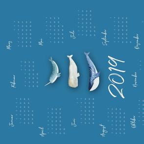 Whale Squad Calendar 2019 GER