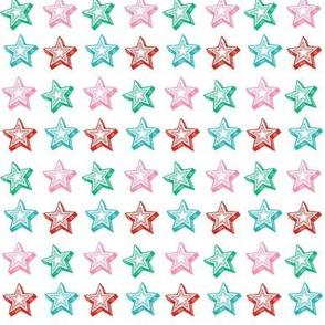 Christmas stars, Holiday coordinate