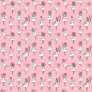MINI - ballet // dancing dancer ballet fabric cute girls music pink