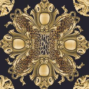 Leopard Grand Cartouche