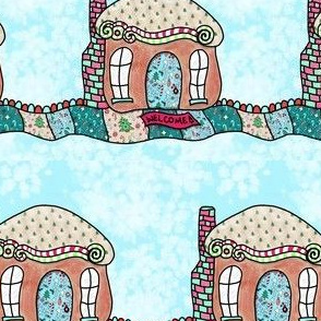 Project 844 | Gingerbread House Christmas Candy