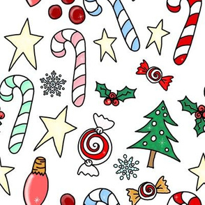 Project 842 | Christmas Candy on White